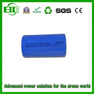 3.7V 3500mAh 32600 Battery Cell Li-ion Rechargeable Batteries Cylindrical pictures & photos