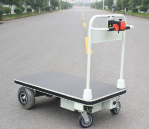 Electric Hand Cart Trolley with Big Wheels for Transportation