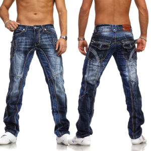 2016 Custom Men Fashion Stretch Denim Jeans pictures & photos
