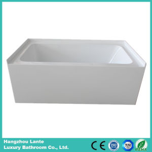Rectangle Acrylic Bathtub with Skirt (LT-24Q) pictures & photos