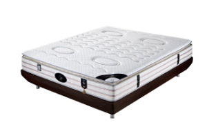 The Pocket Spring Mattress with Latex of Bedroom Furniture (Educational Sleep) pictures & photos