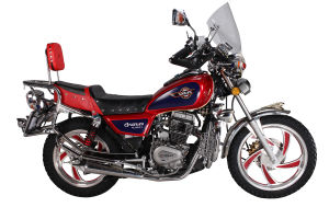 125/150cc Disc Brake Alloy Wheel Double Mufflers Motorbike (SL125-C2) pictures & photos