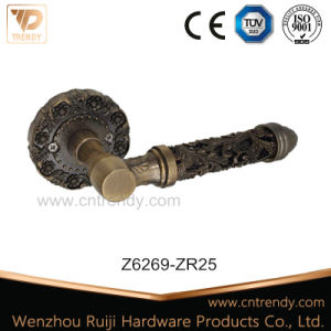 Trendy Zinc Alloy Inside Door Handle, Lever Furniture Handle (Z6269) pictures & photos