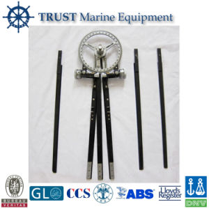 Marine Stainless Steel Three-Arm Protractor pictures & photos