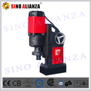 32mm Portable Magnetic Drill with Twist Drill Bit and Saving Labor Hand Wheel