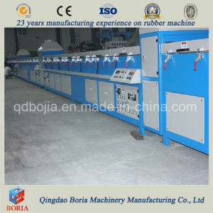 Auto Sealing Strip Extrusion Line, Rubber Extruder Vulcanizing Line pictures & photos
