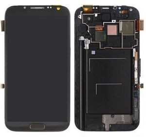 Low Price Black Display LCD for Samsung Note2 pictures & photos