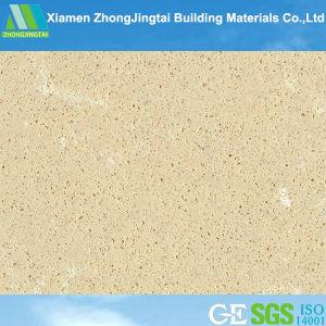Glory Stone Good Beige Artificial Quartz Stone Solid Surface for Tiles (ZJT-F3012) pictures & photos