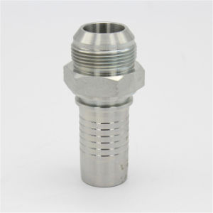 Straight Jic Male 74 Degree Cone Hydraulic Hose Ends pictures & photos