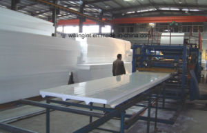 Light Weight EPS Wall and Roof Panel Machine, Sandwich Wall and Roof Panel Machine pictures & photos