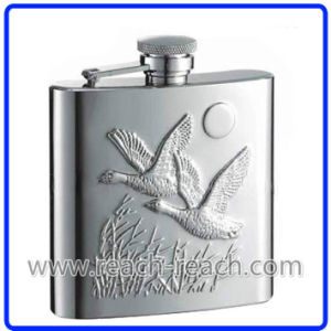 7oz OEM Promotional Stainless Steel Hip Flask (R-HF020) pictures & photos