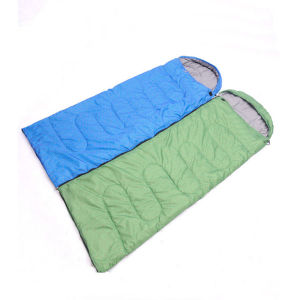 Blue and Green Hot Selling Hollow Cotton Sleeping Bag pictures & photos