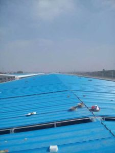 Cheap Price Corrugated Blue Color Steel Roofing Steel Sheet Building Material pictures & photos