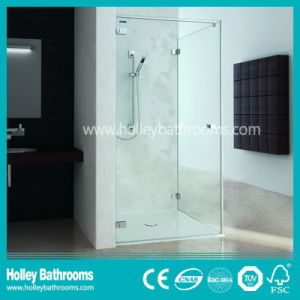 New Design Sliding Shower Screen with Tempered Frosted Glass (SD300N) pictures & photos
