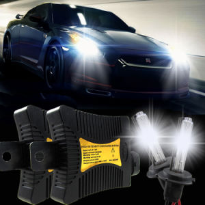 35W Slim Canbus Ballast Xenon HID Headlight Kit for Car Conversion pictures & photos