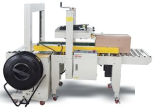 Carton Sealing and Strapping 2 in One Machine pictures & photos