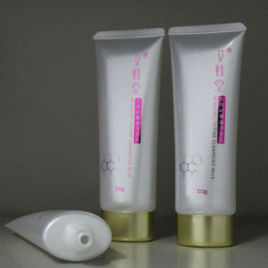 50ml Oval Pearl White Plastic Cosmetic Tube Packaging pictures & photos