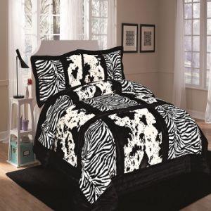 2015 New Design Luxury Patchwork Quilt Bedding Set (SH4070-5)