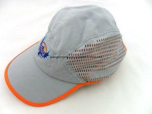 Custom Gray Mesh Flexfit Golf Cap pictures & photos