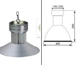 Lamp Dimension 470*510mm LED High Bay and Tunnel Light pictures & photos