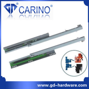 Top Quality Telescopic Drawer Channel /3-Fold Steel Ball Bearing Slide (3803) pictures & photos
