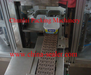 2015 Good Quality Yoghurt Cup Filling and Sealing Machine pictures & photos