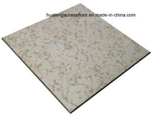 Anti-Static Access Floor with Integral Edge Trim (45 degree beveled edge) pictures & photos