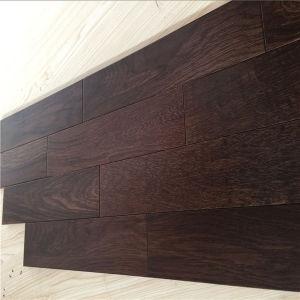 Elegant Living Walnut Color Oak Enigneered Wood Flooring pictures & photos