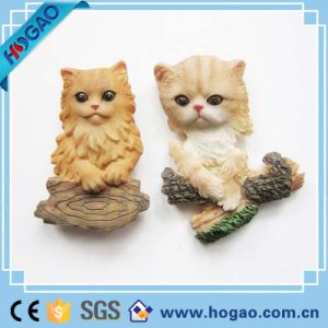 Small Baby Cat Resin Fridge Magnet pictures & photos