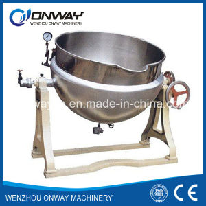 Kqg Industrial Jacket Kettle Electric Steam Jacket Kettle Electric Jacketed Mixing Kettle pictures & photos