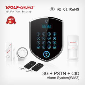 WCDMA 3G Network 2g GSM Compatible PSTN Contact ID WiFi Alarm System pictures & photos