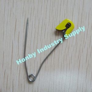 New Arrival 57mm Slide Lock Brass Head Banana Shaped Baby Diaper Safety Pins pictures & photos