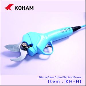 Koham Tools CE Certificated Bypass Scissors Vineyards Loppers Electrical Secateurs Powered Pruners Electricity Trimmers Lithium Battery Handheld Pruning Shears pictures & photos