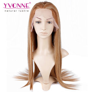 Mix Color Brazilian Straight Full Lace Wig pictures & photos