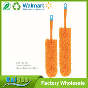 OEM White Cotton Yarn Floor or Car Cleaning Brush pictures & photos