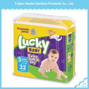 New Printed Economic Ultra Thin Disposable Baby Diaper