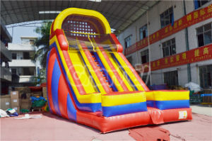 New Rainbow Inflatable Water Slide for Commercial pictures & photos