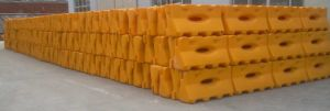 China Manufacturer of One Holes Water Filled Barrier pictures & photos