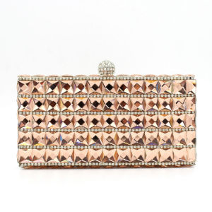 Low MOQ Designer Women Fashion Bag Lady Box Clutch Bag pictures & photos
