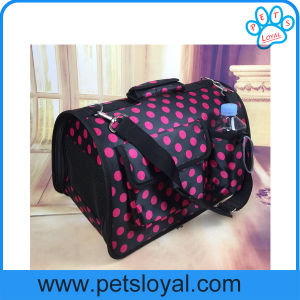 Luxury Satin Pet Dog Cat Crate Carrier Factory pictures & photos
