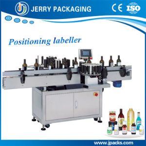 Automatic Positioning Wine Food Round Bottle Sticker Labeller Supplier pictures & photos