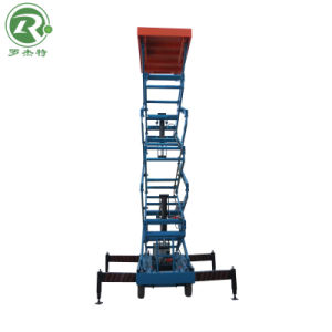 6m Automatic Type Mobile Aerial Work Scissor Lift (SJZ0.3-6)