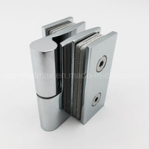 Stainless Steel Brass Glass Clamp Shower Door Rising Hinge (YH-W26) pictures & photos
