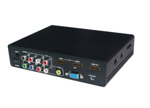 AV+YPbPr+VGA+Audio+USB to HDMI Converter pictures & photos