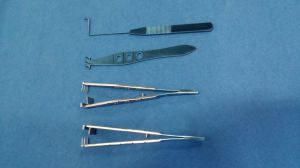Eyelid Surgery Blepharoplasty Double Eyelid Forceps Set pictures & photos