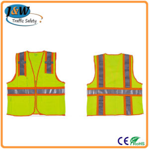 High Quality Adults En471 Standard Refective Safety Vest / 3m Reflective Safety Jacket pictures & photos