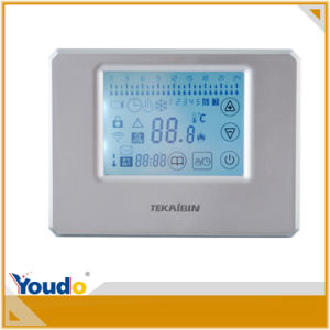 Touch Screen Thermostat for Water Heating