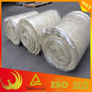 Heat Insulation Material Fireproof Stone Wool Blanket for Pipe pictures & photos