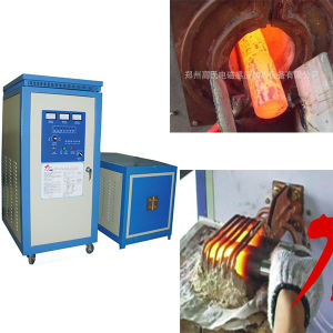 High Frequency Wh-VI-80 Induction Heating Metal Hot Forging Machine pictures & photos
