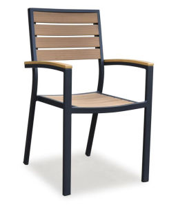 Wholesales Polywood Furniture Outdoor Aluminum Dining Chairs (PWC-15605) pictures & photos